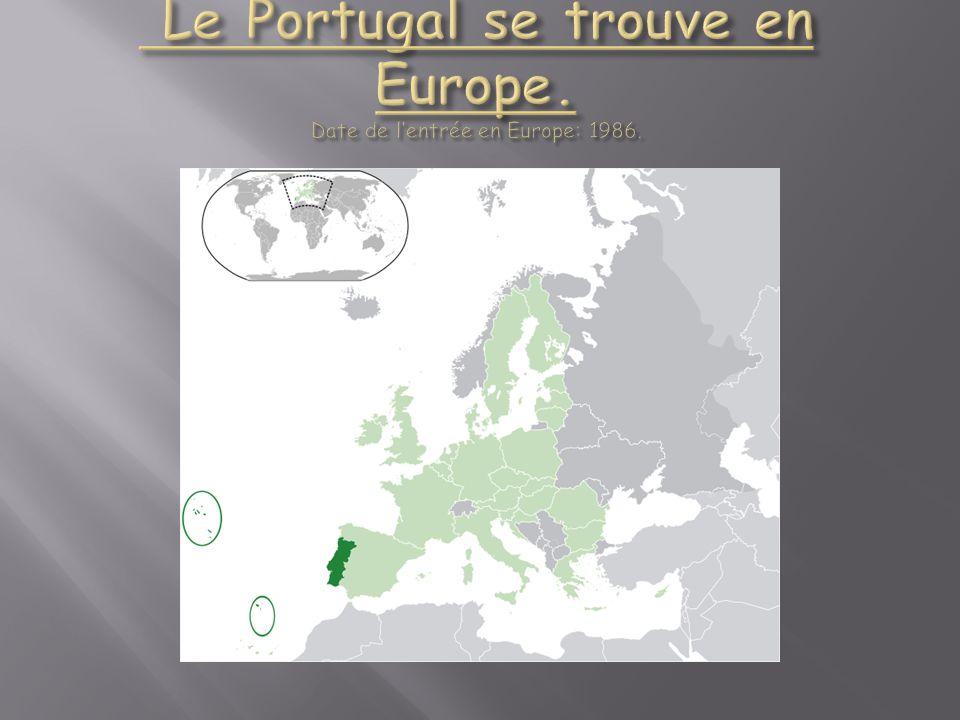 Sa capitale : Lisbonne (il y a 570 657 habitants).