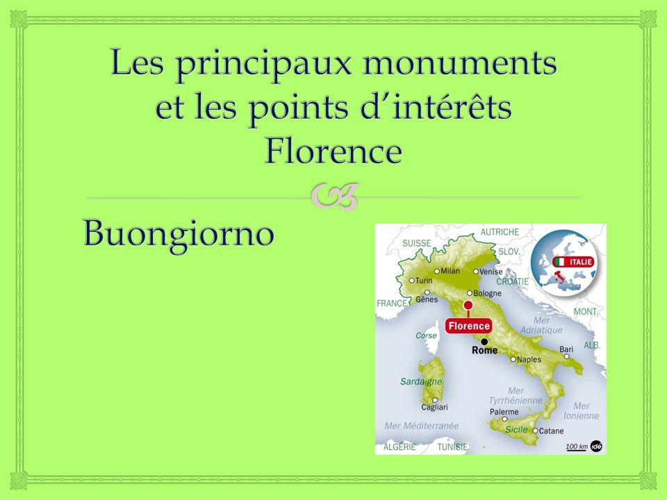 SOMMAIRE Le ponte Vecchio Le Palais Pitti La Fortezza de Basso La Cathédrale de Florence Questions Le Palais Vecchio