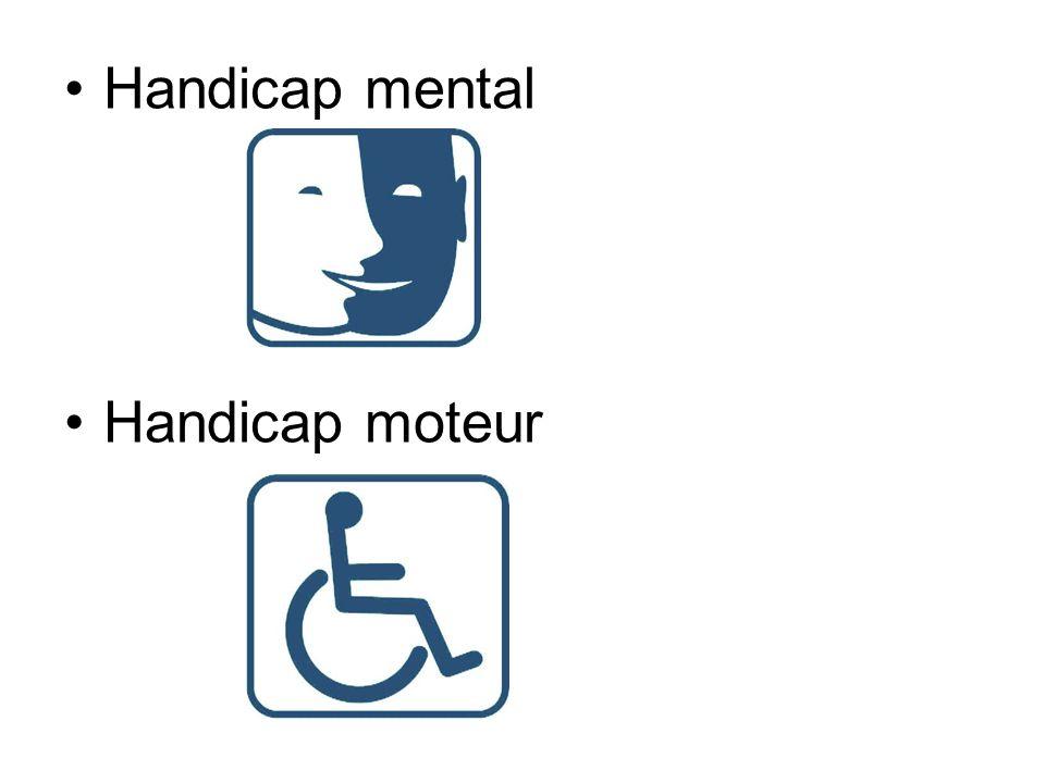 Handicap mental Handicap moteur