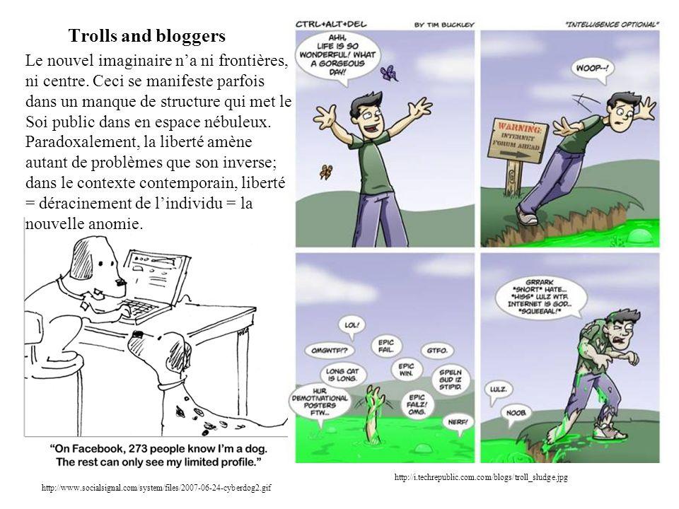Trolls and bloggers http://www.socialsignal.com/system/files/2007-06-24-cyberdog2.gif http://i.techrepublic.com.com/blogs/troll_sludge.jpg Le nouvel i