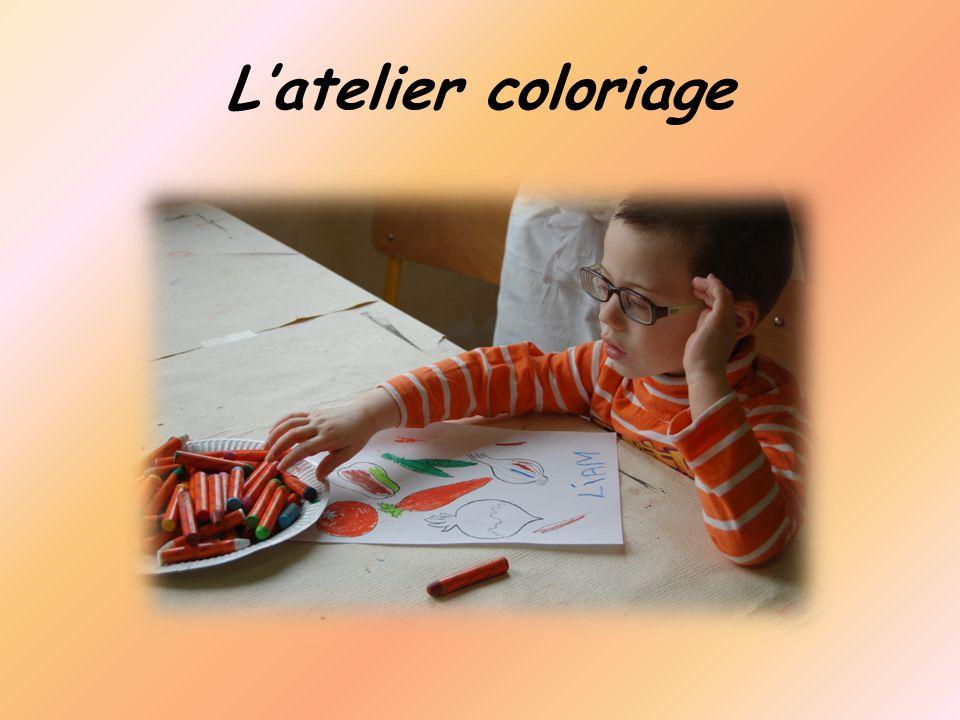 Latelier coloriage