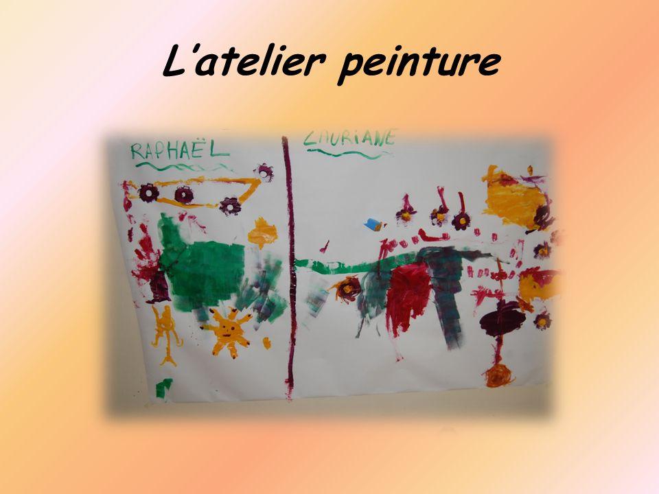 Latelier peinture