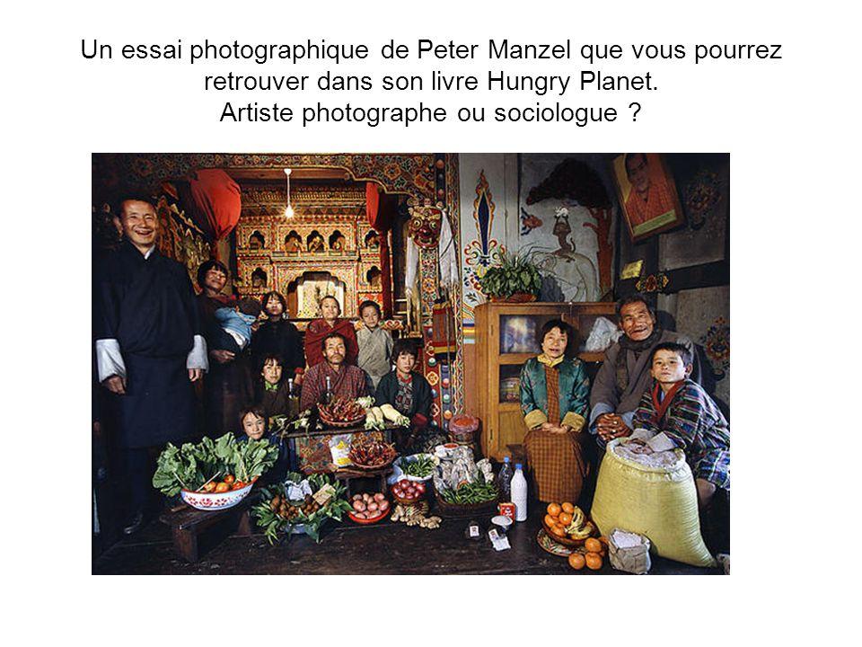 Un essai photographique de Peter Manzel que vous pourrez retrouver dans son livre Hungry Planet.