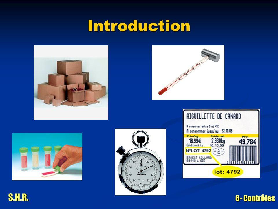 S.H.R. 6- Contrôles Introduction