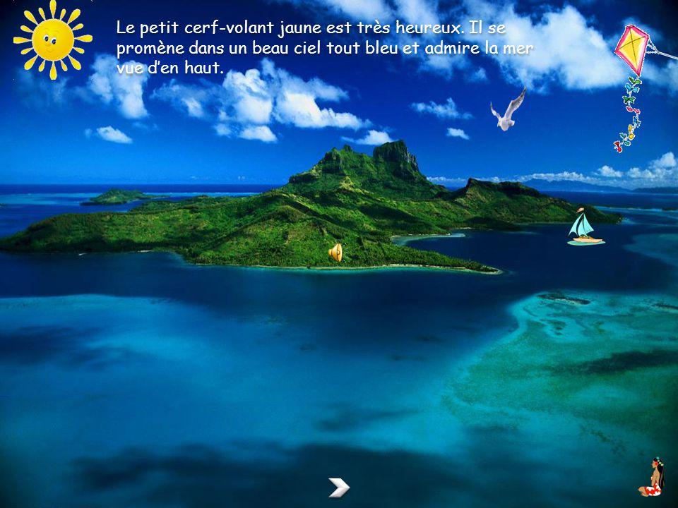 un clic sur la tahitienne fait apparaître lanimation