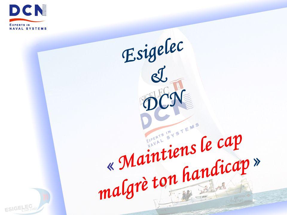 Esigelec & DCN « Maintiens le cap malgrè ton handicap »