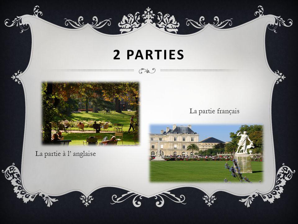 2 PARTIES La partie à l anglaise La partie français