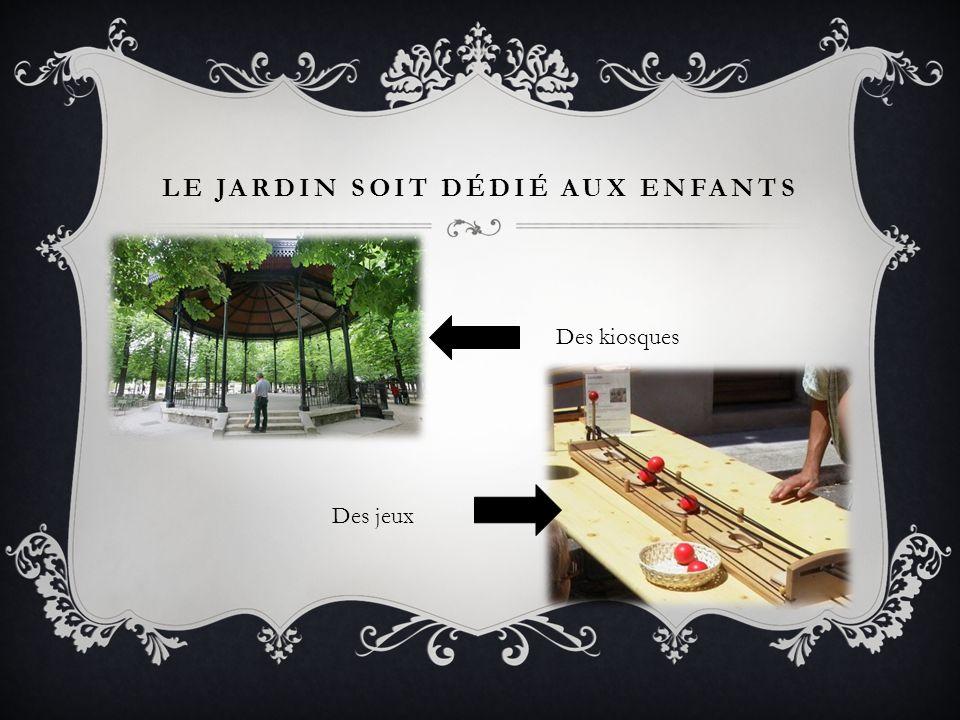 LOCCUPANT INSTALLE DES BARBELÉS DANS LE PARC