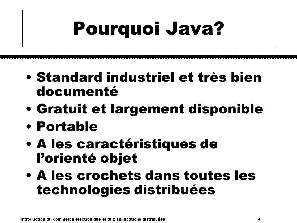 Introduction au commerce électronique et aux applications distribuées 35 Attention .