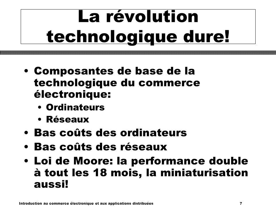 Introduction au commerce électronique et aux applications distribuées 28 Internet: Sécure.