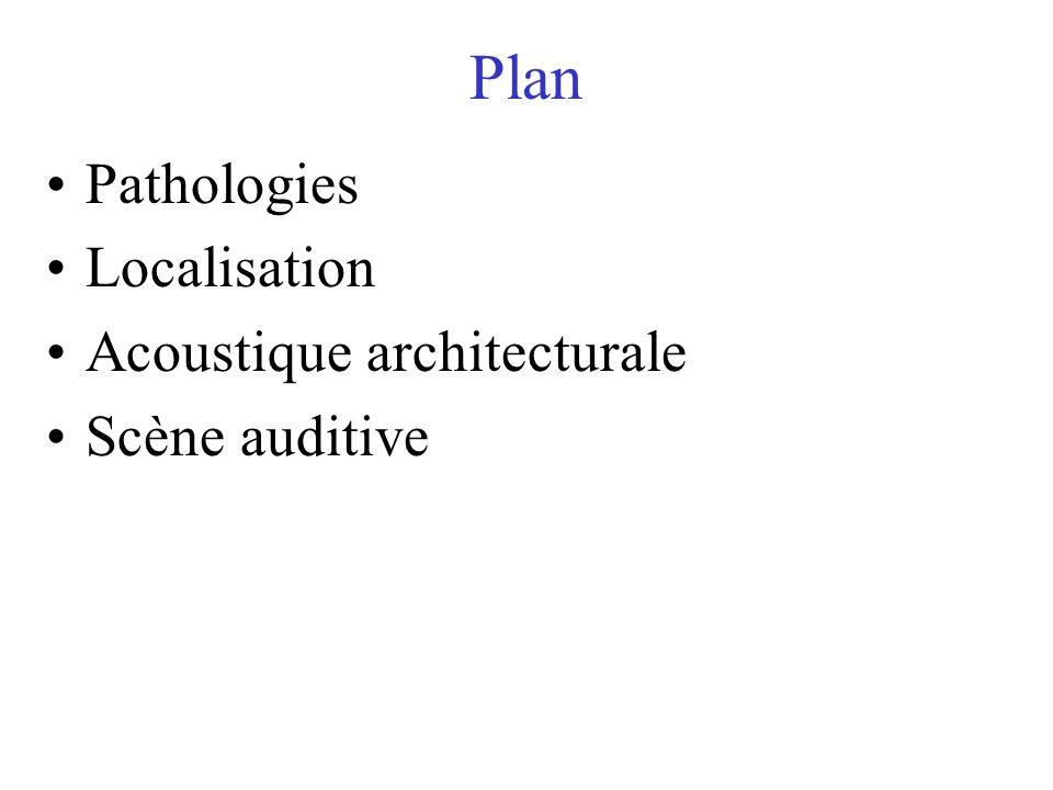 PSY 2055.Psychologie de la perception. Localisation sonore, qualité du son et scène auditive.