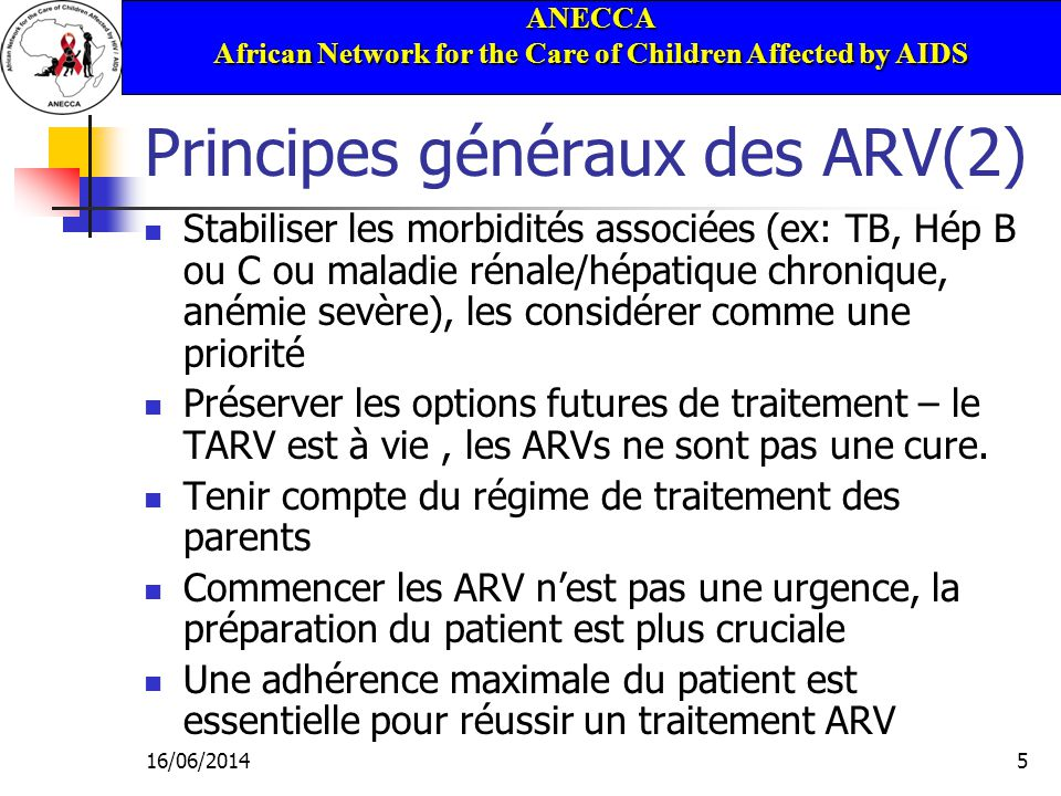 ANECCA African Network for the Care of Children Affected by AIDS 16/06/201436 Effets indésirables des ARV - IP Lipodystrophie Intolérance GI Hyperglycémie Anomalies lipidiques