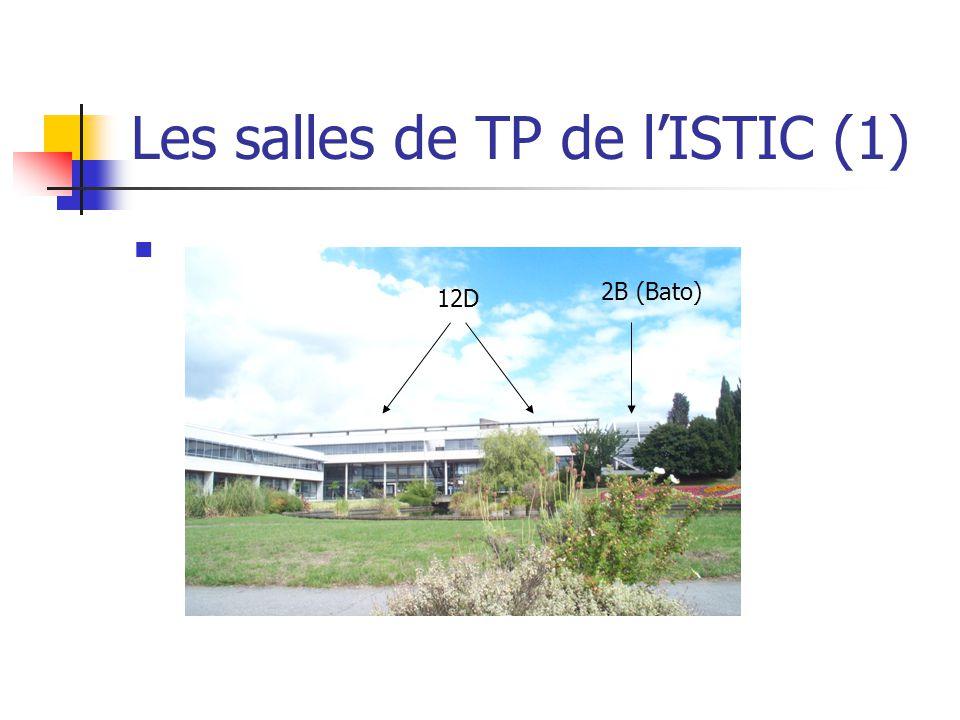 Les salles de TP de lISTIC (1) 2B (Bato) 12D