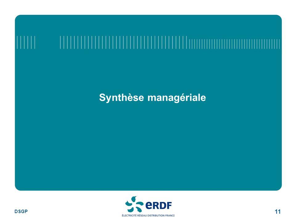DSGP 11 Synthèse managériale
