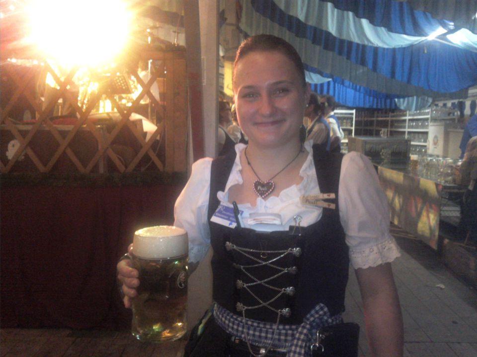 14 choppes de bière 2kg100 chaque