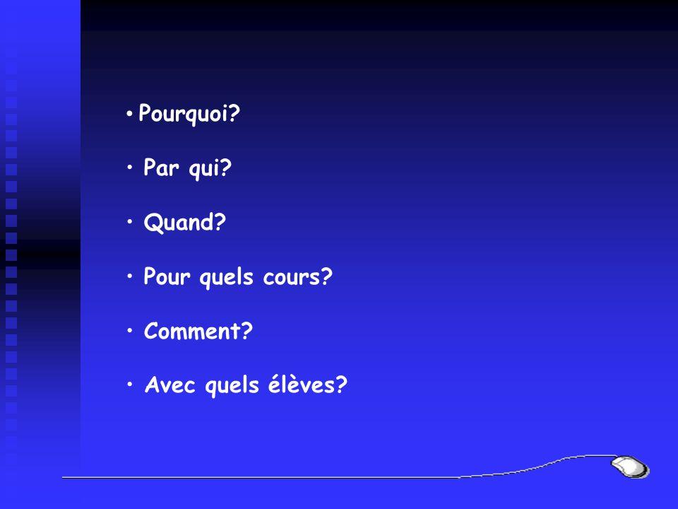 La présentation Pas plus de 6 points par diapositive Titre sur une seule ligne et court