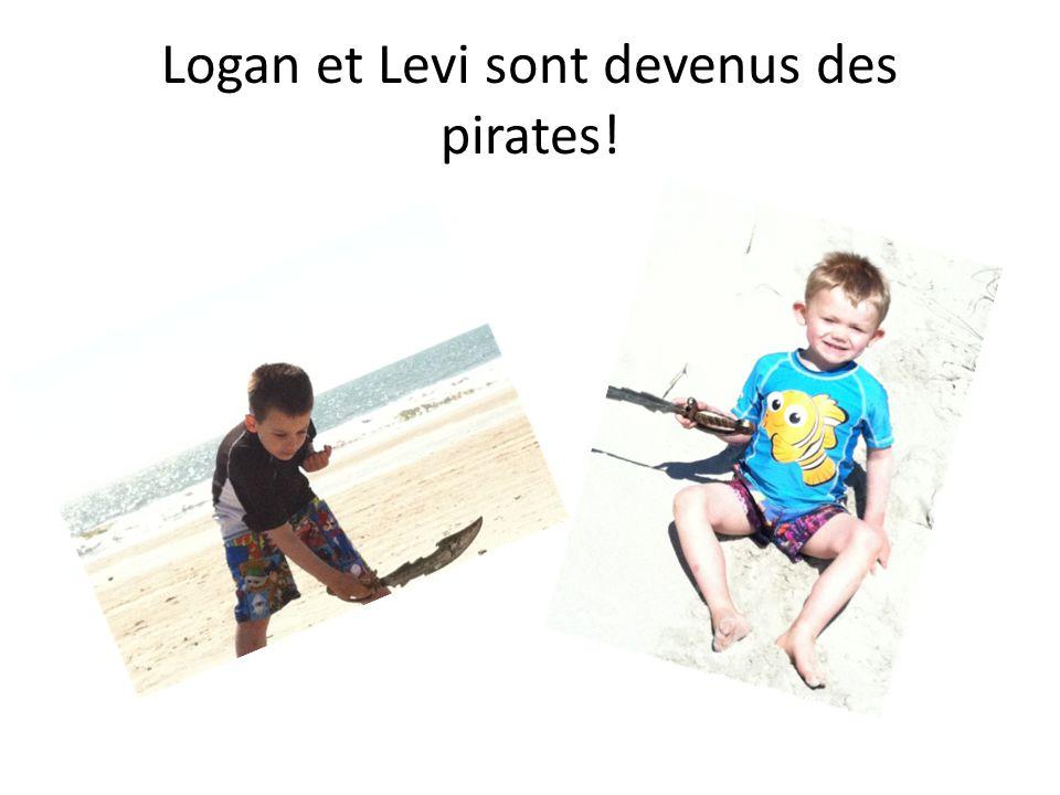 Logan et Levi sont devenus des pirates!