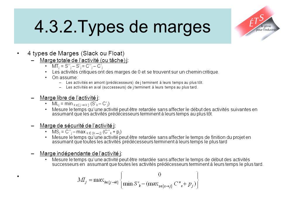 4.2. Exemple dapplication de la méthode du CPM Chemin critique: 1 – 3 – 6 – 9- 11 – 12 - 14