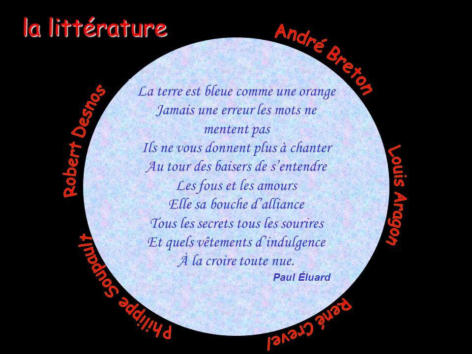 Pascale Descent Serge Pepin 4 la littérature La terre est bleue comme une orange Jamais une erreur les mots ne mentent pas Ils ne vous donnent plus à