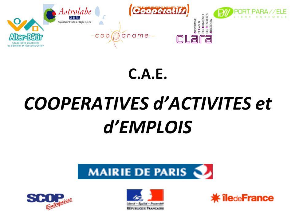 C.A.E. COOPERATIVES dACTIVITES et dEMPLOIS