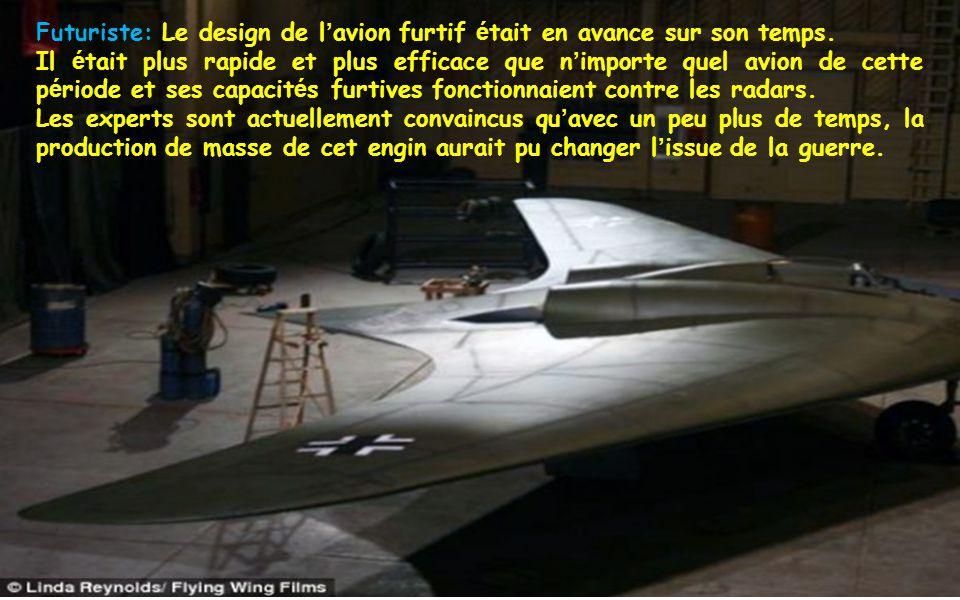 Futuriste: Le design de l avion furtif é tait en avance sur son temps.