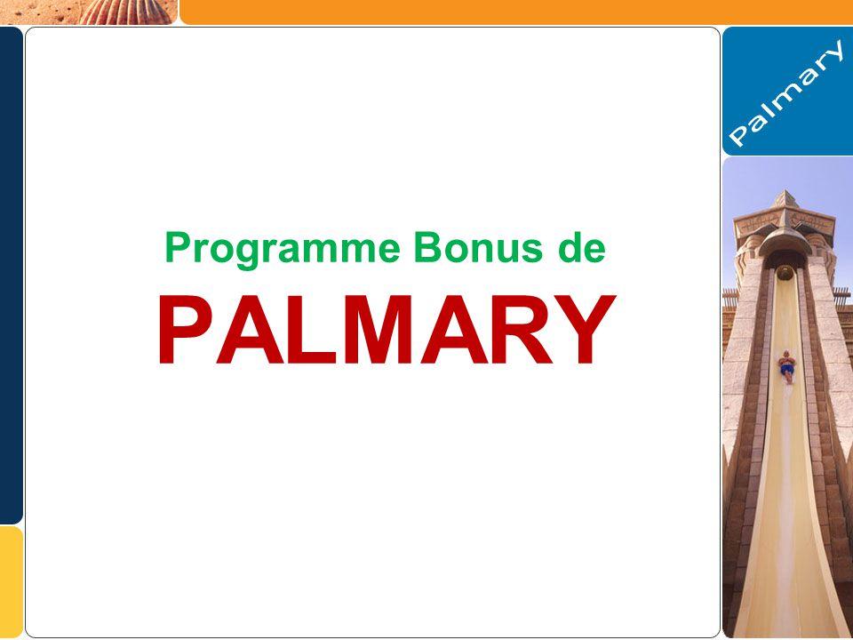 Programme Bonus de PALMARY