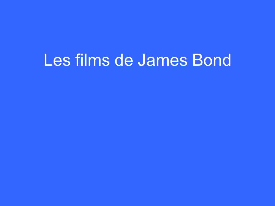 Les films de James Bond