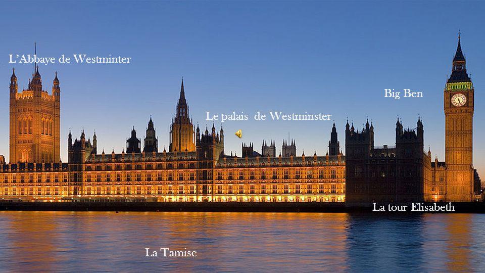 Big Ben, La tour Elisabeth est le surnom de la grande cloche de 13,5 tonnes installée dans la tour de lhorloge