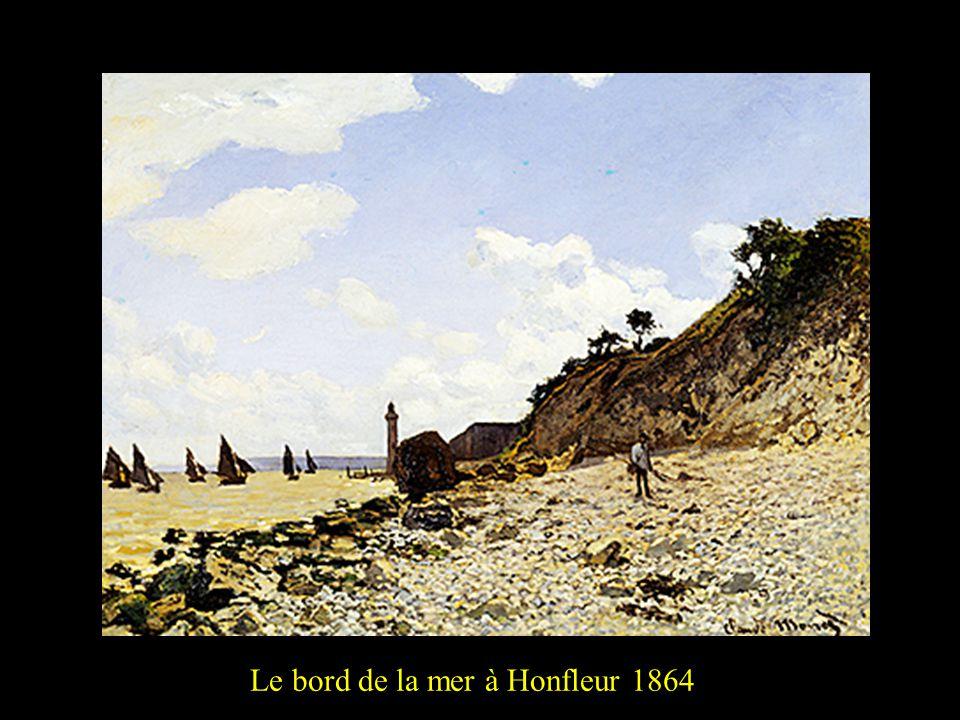 Le bord de la mer à Honfleur 18642