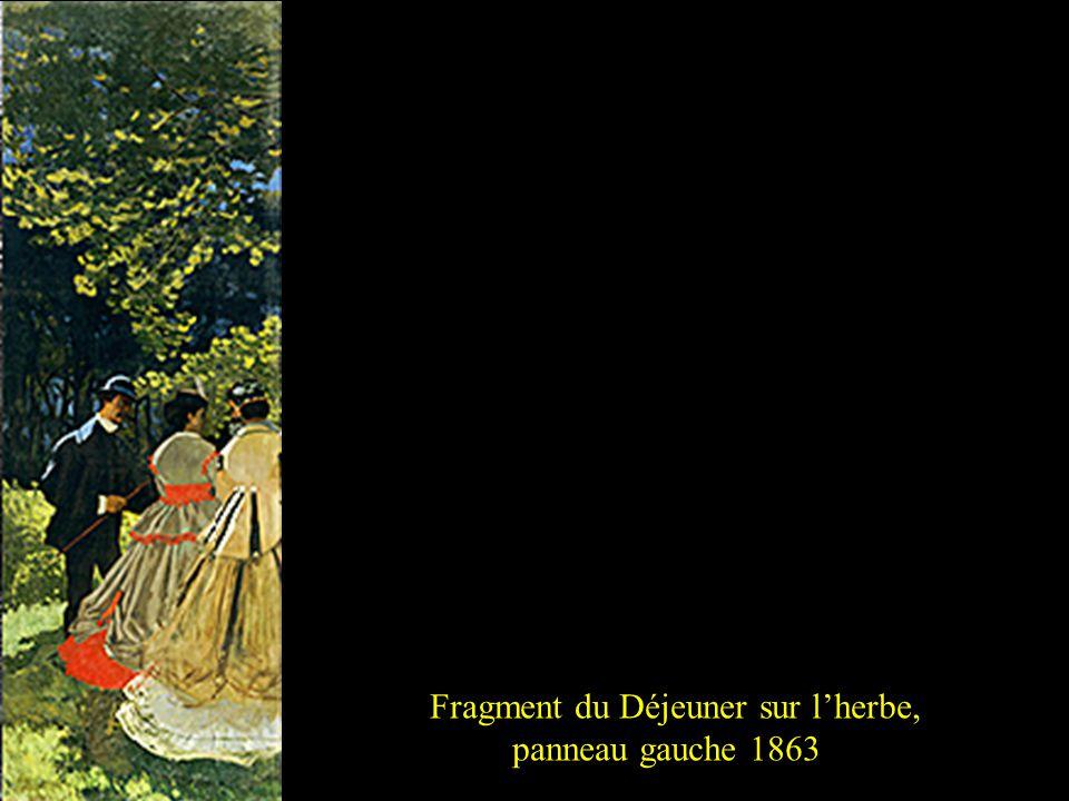 Fragment du Déjeuner sur lherbe, panneau central 18632