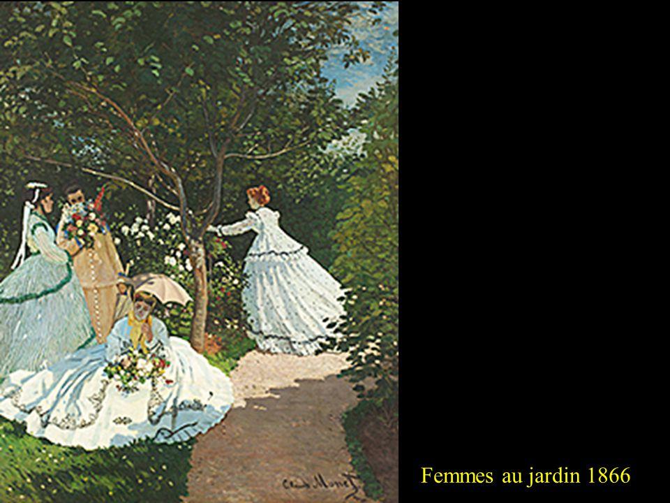 Méditation, Madame Monet au canapé 1870-18712