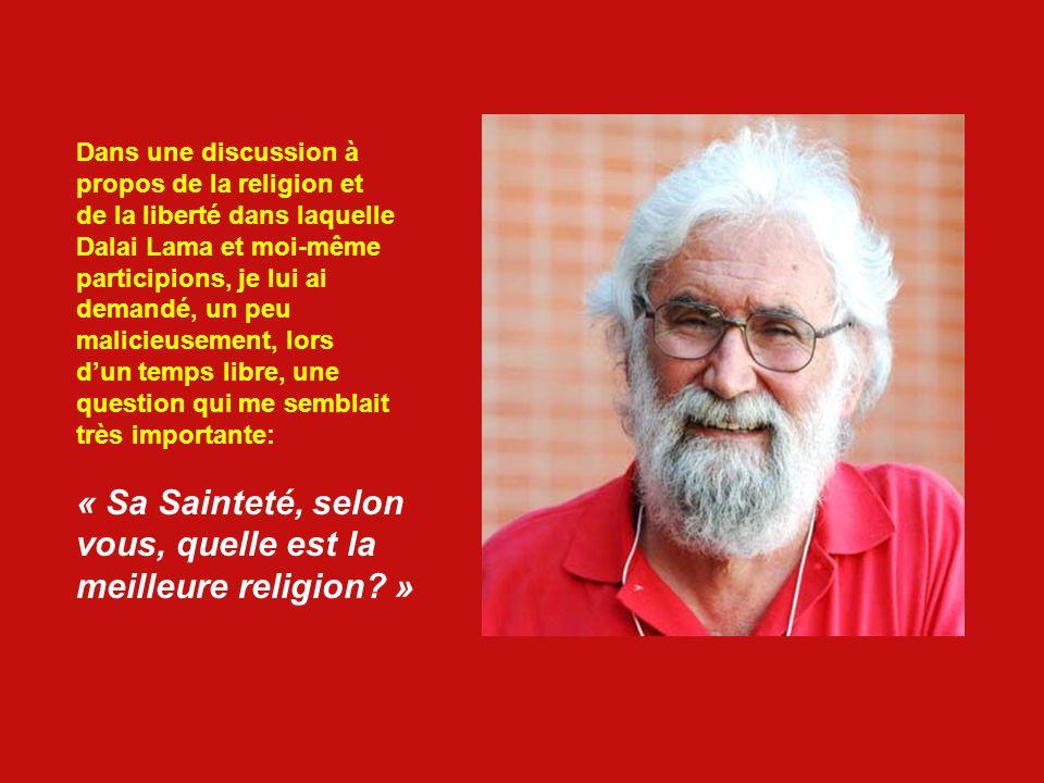 TA RELIGION NA AUCUNE IMPORTANCE Leonardo est lun des renovateurs de la Théologie de la Liberté. Voici un bref dialogue entre Leonardo Boff, un théolo