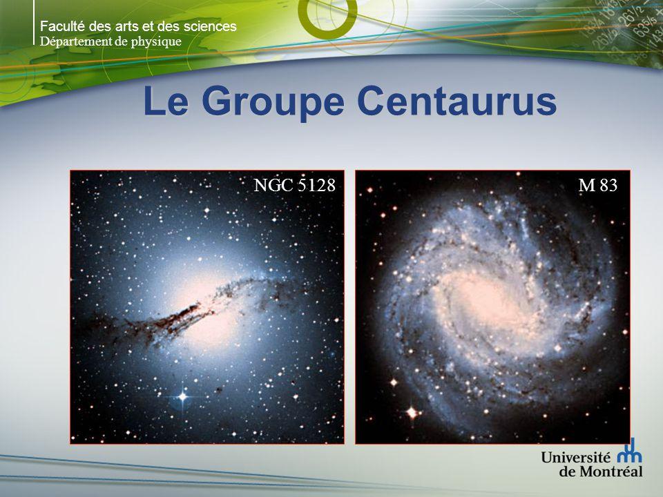 Faculté des arts et des sciences Département de physique Le Groupe Centaurus NGC 5128M 83