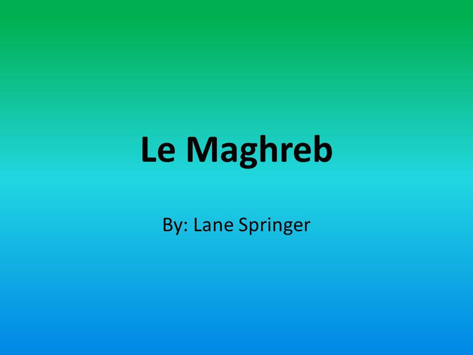 LAlgérie, la Libye, la Mauritane, le Maroc, et la Tunisie sont les pays dans la région de lAfrique du Nord quon appelé le Maghreb.