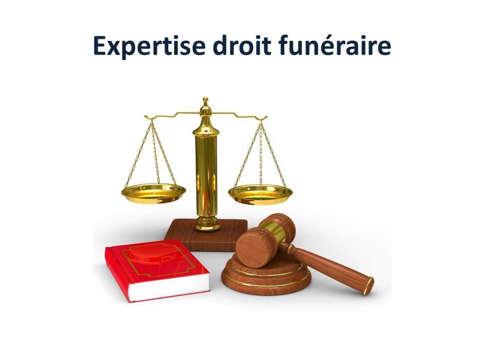 Expertise droit funéraire