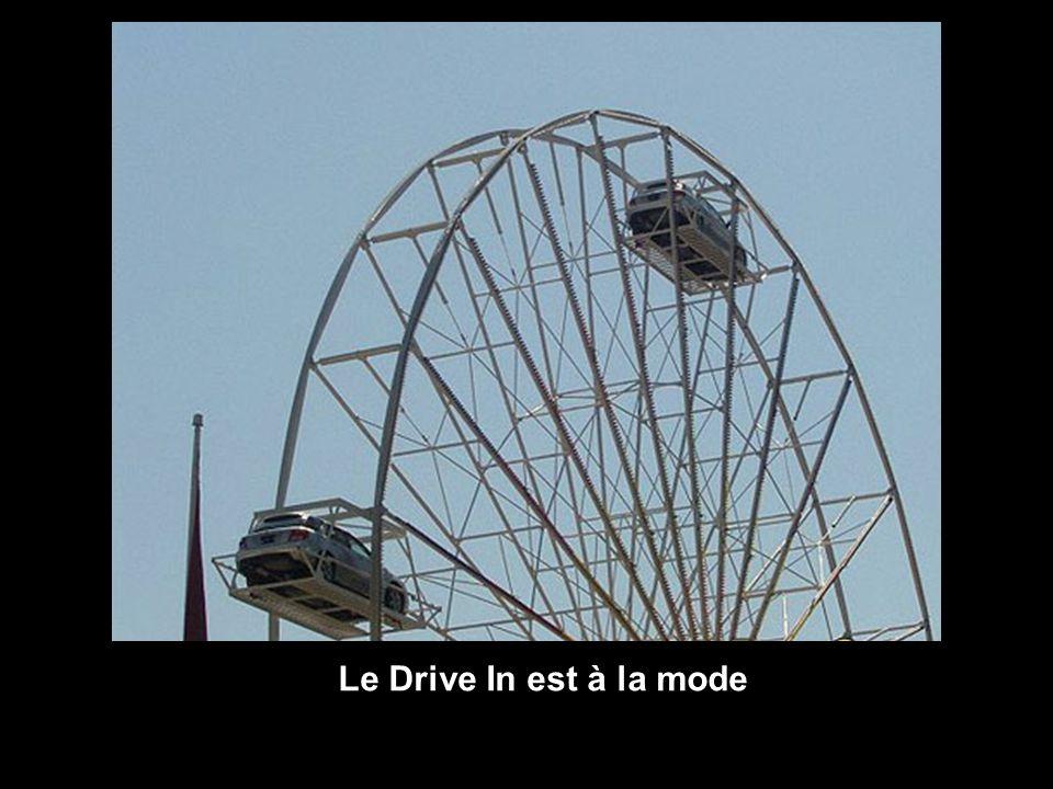 Le Drive In est à la mode