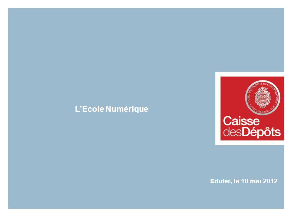 LEcole Numérique Eduter, le 10 mai 2012