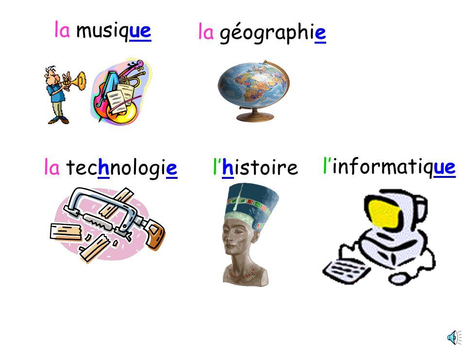 le français le dessinLe sport/lEPS lespagnol langlaisle théâtre