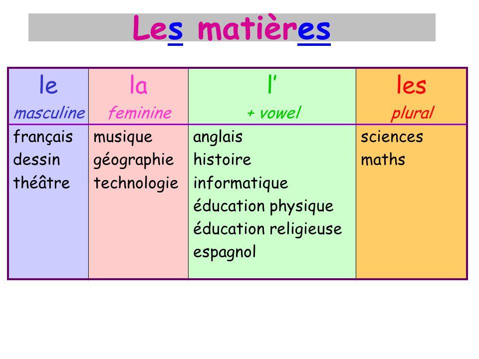 les sciences les maths léducation religieuseLéducation civique
