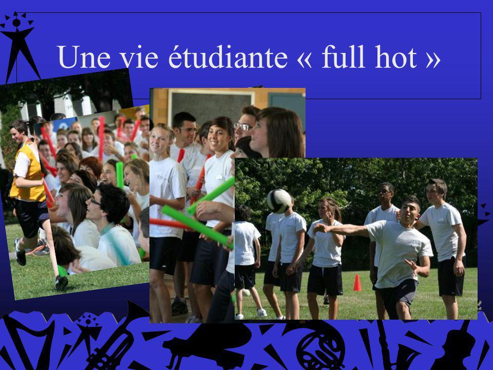 Une vie étudiante « full hot »