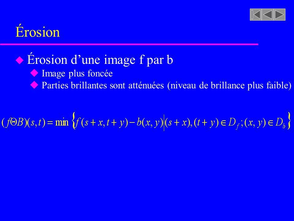 Figure 8.43 [rf. GONZALEZ, p. 550] Dilatation