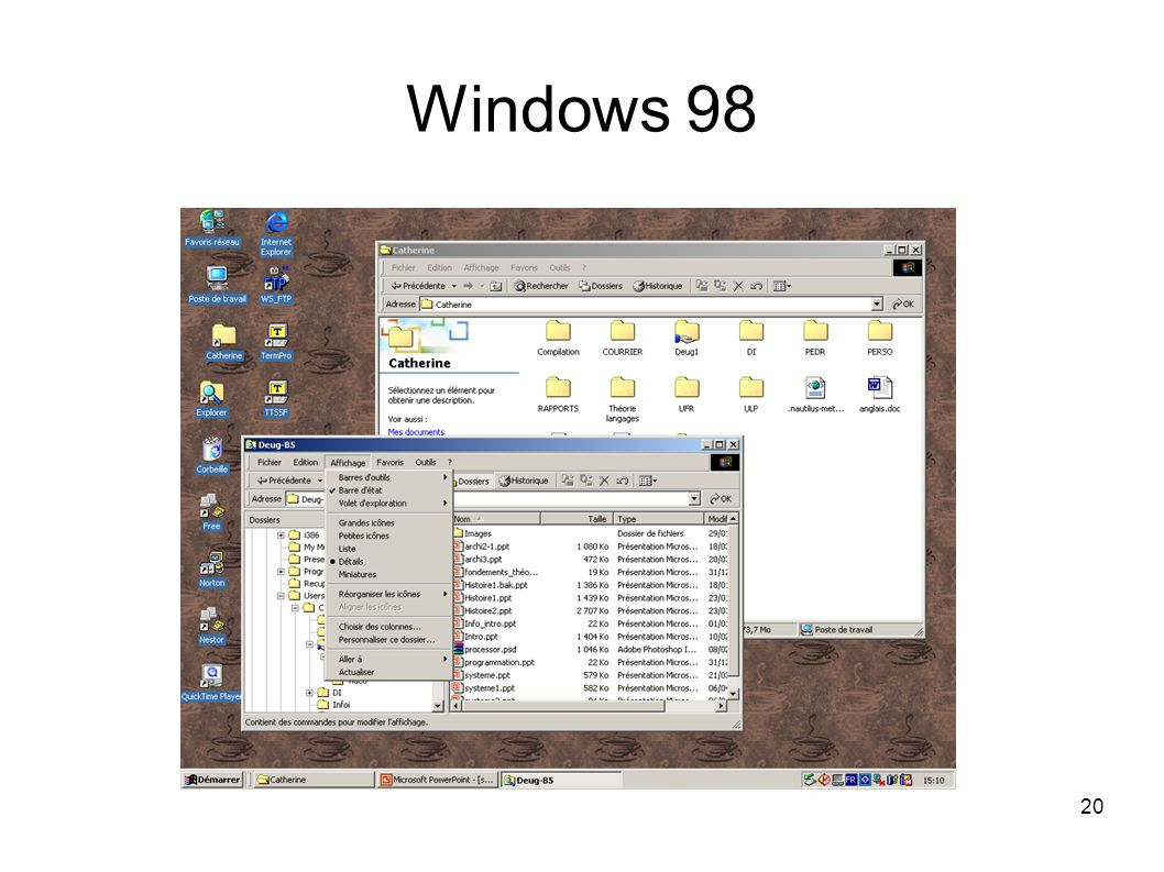 20 Windows 98