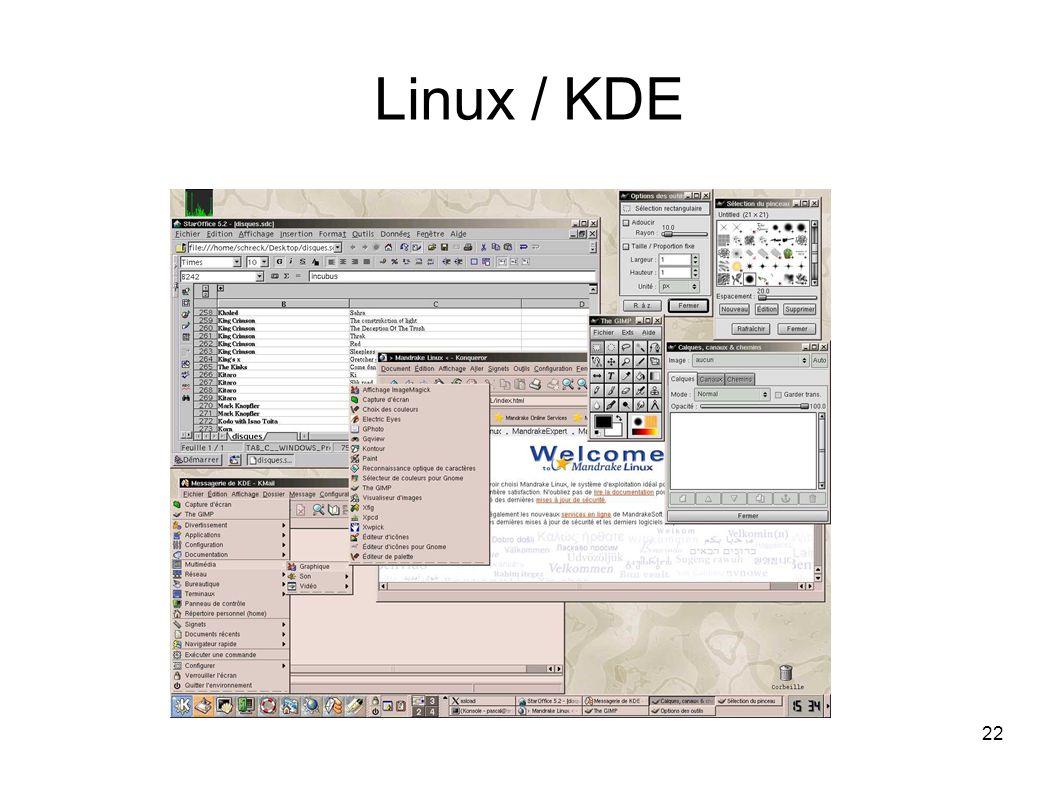 22 Linux / KDE