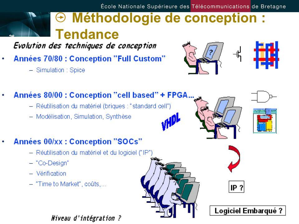 - 26 - Méthodologie de conception : Tendance