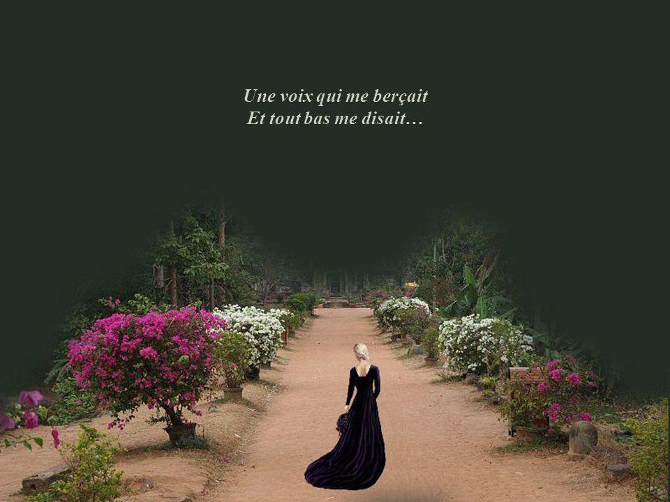 Je passais aux Tuileries Quand dans une allée fleurie Une voix s'est élevée À moins que j'aie rêvé…