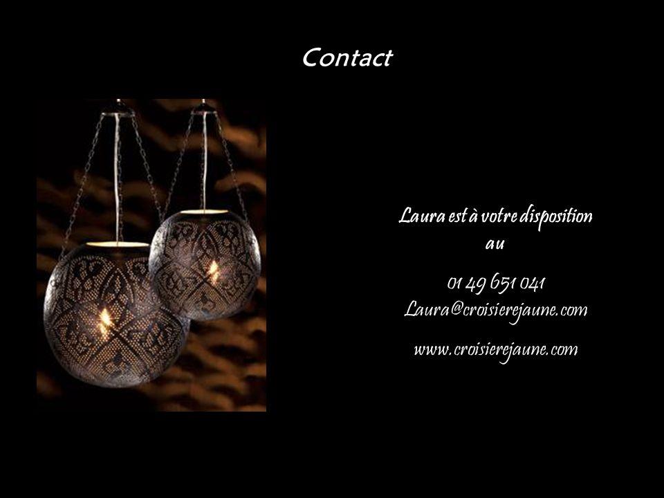 Laura est à votre disposition au 01 49 651 041 Laura@croisierejaune.com www.croisierejaune.com Contact