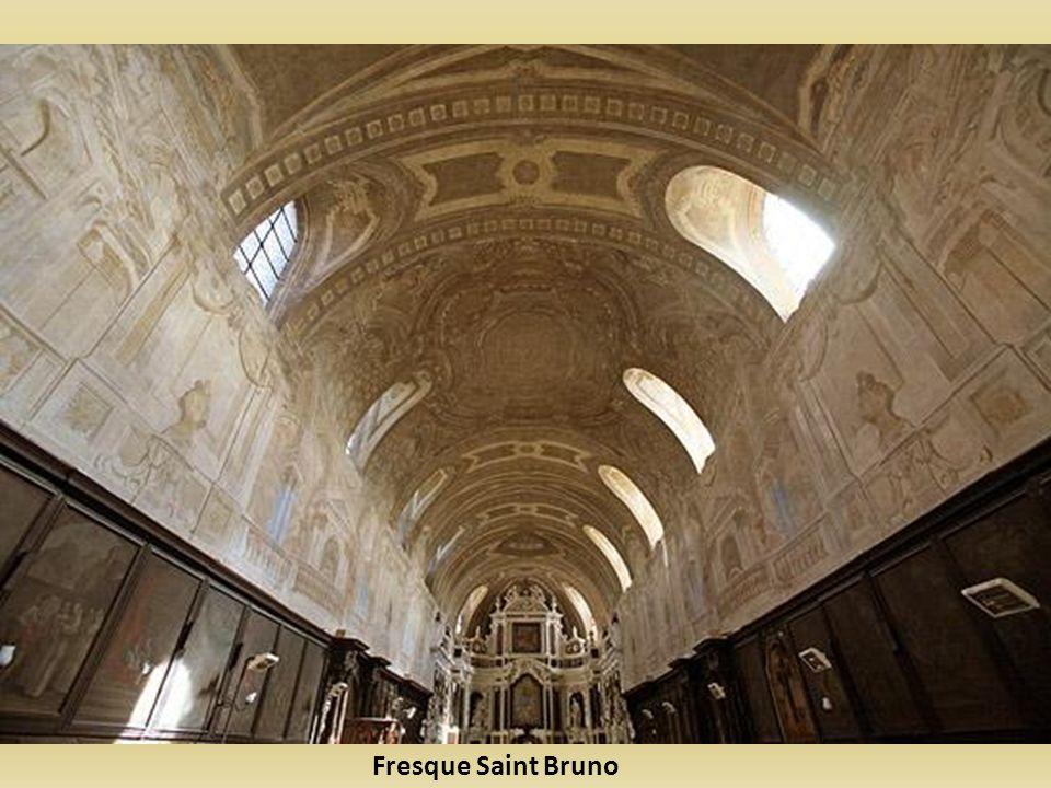 Fresque Saint Bruno