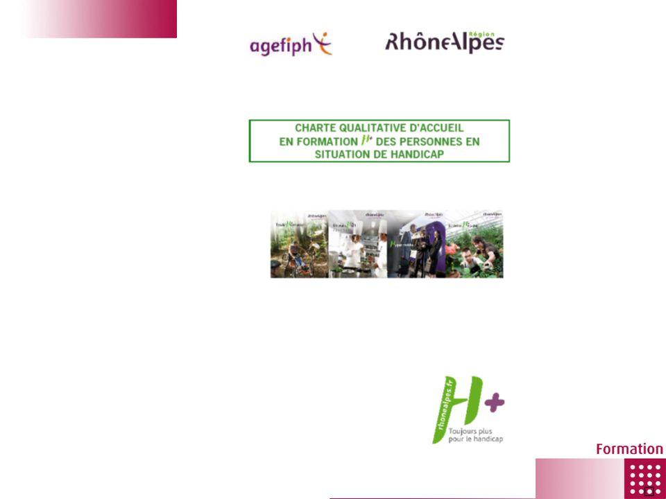 CRDI Rhône-Alpes La pédagogie adaptée à la situation de handicap Entrée par thématique Exemple : Appui tout type de handicap - Centre daides à la décision des CMA - Point Apprentissage des CCI - CAP Emploi - …/… Appui par type de handicap - Déficience visuelle - Déficience auditive - Déficience motrice - Maladie invalidante - Déficience psychique - Déficience intellectuelle o AFIPAEIM o APAJH - Polyhandicap - Autres (dyslexie, cérébro-lésés, …) La plate forme ressources