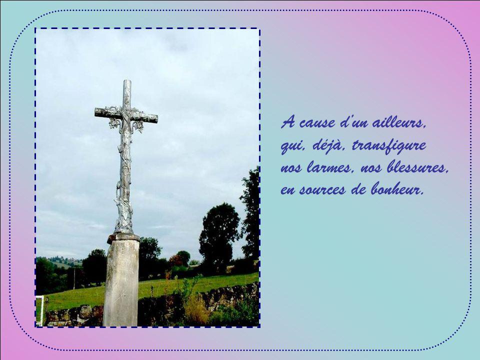 A cause de lAmour que le Christ nous révèle et dont il nous appelle à revêtir nos jours.