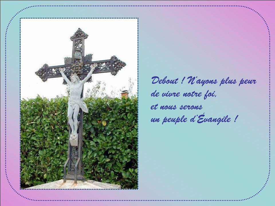 A cause de Jésus plus grand que nos espaces, rassemblant tant de races dans un même salut;